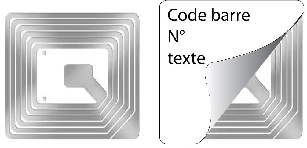 ABetiquettes - étiquettes antivol radio fréquence
