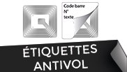Etiquettes anti-vol