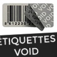 étiquettes VOID
