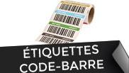 étiquettes code barre